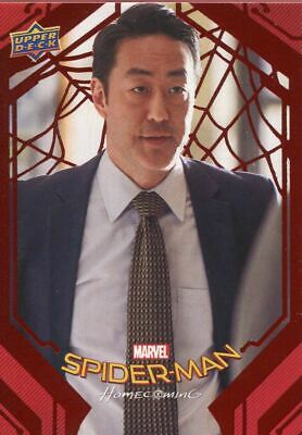Spiderman Homecoming Red Foil [199] Base Card #59 Busted
