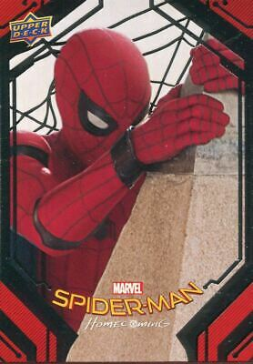 Spiderman Homecoming Complete 100 Card Silver Foil Parallel Base Set