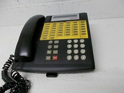 34D Euro Style Black  Display Telephone AT&T Avaya Partner Lucent ACS