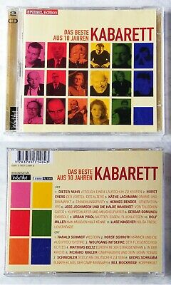 10 JAHRE KABARETT Rogler, Schmickler, Priol, Nuhr,... SpiegelEdition DO-CD TOP