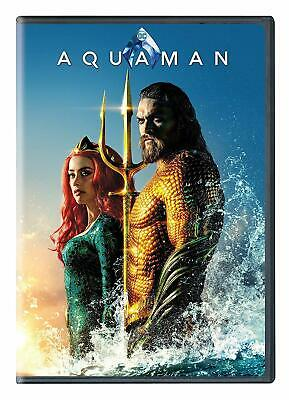 Aquaman: { 2-Disc DVD Special Edition Set} 2019 {Shipping Now}