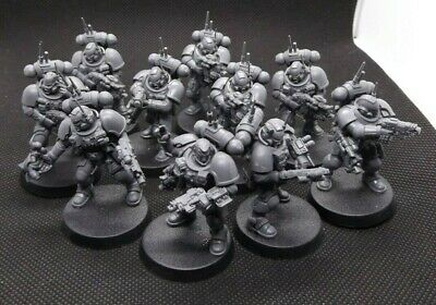 10 Man Infiltrators Squad - Warhammer 40K - Shadowspear Space Marine Vanguard