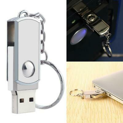 UK 2TB Metal USB 2.0 Memory Stick Pen USB Flash Drive U Disk Swivel Key Thumb PC