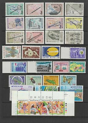 Korea , MH or MNH collection, 32 stamps
