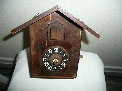 Vintage, Black Forest, Julius Cuckoo Clock, Jmius Movement, For Restoration.
