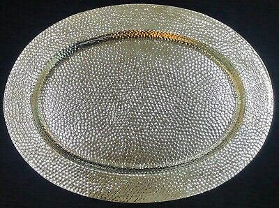 Sterling Silver 925 Oval Shape Tray Platter Salver Serving Plate Dining Vessel