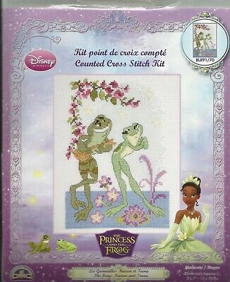 DMC Vintage  X-kit Disney The Princess and the Frog BL891/70 NIP