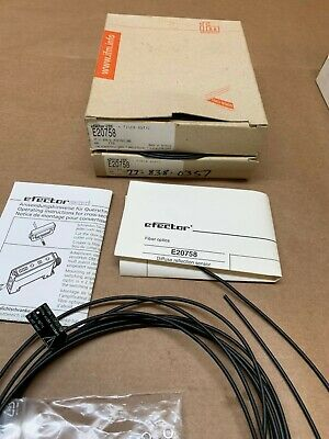 IFM Fiber Optic Cables E20757 NEW, NEW