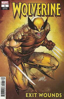 Wolverine Exit Wounds #1 1:50 Rob Liefeld Variant Marvel 2019