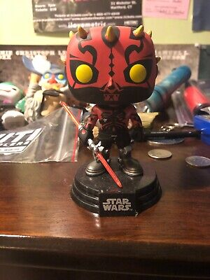 Darth Maul Smugglers Bounty Funko Pop EXCLUSIVE OPENED IMPERFECT