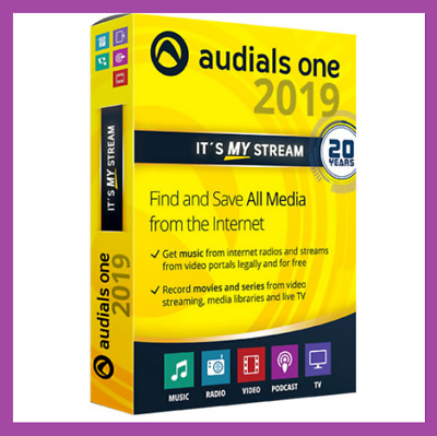 NEW Audials One Platinum 2019 🔝 Lifetime LICENSE KEY 🔐 Instant 30s Delivery 📩