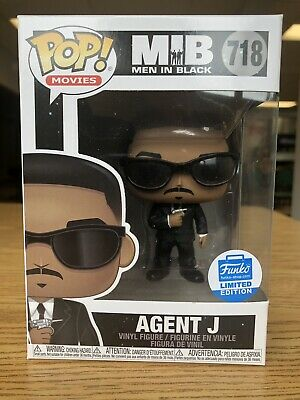 AGENT J #718 FUNKO POP! Movies Shop Exclusive MEN IN BLACK Brand New In Box