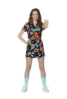 Stranger Things Eleven Mall Romper Costume Adult M 8-10  Includes Socks In Hand