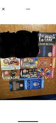 Dave and Busters Empty Power Cards-Individual