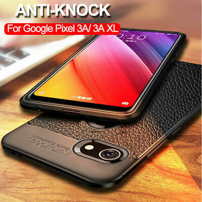 Anti-Knock Silicone Case Ultra-thin Shockproof TPU Cover For Google Pixel 3a XL