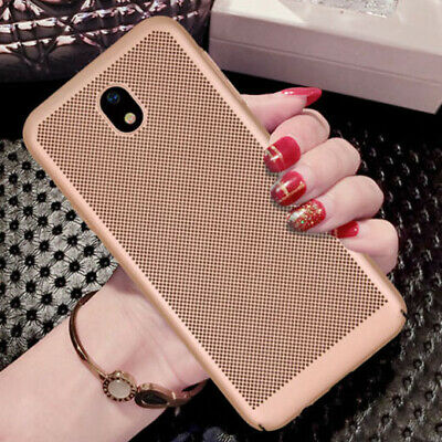 For Samsung Galaxy J3/J5/J7 Pro Shockproof Hot Breathable Slim Shell Case Cover