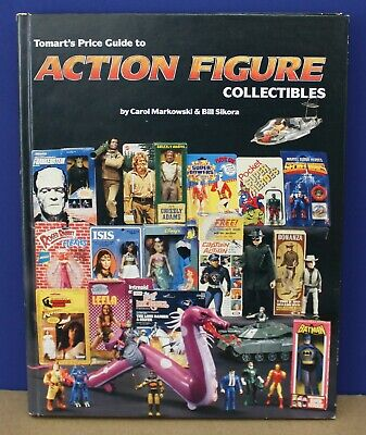 Tomarts Price Guide to Action Figure Collectibles Markowski 1991 Hardcover Exc