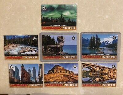 2018-19 Opc Coast To Coast Hockey Landmarks Of The North - 7 Card Lot