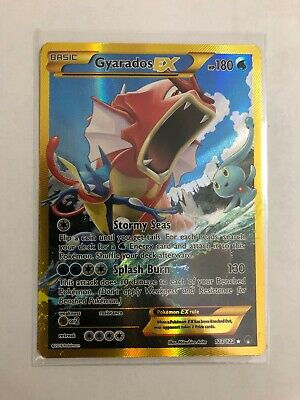 Pokemon tcg Gyarados EX Gold Secret Rare Full Art 123/122 Breakpoint
