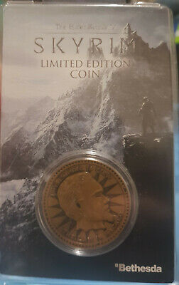 The Elder Scrolls V - Skyrim Limited Edition Individually Numbered Coin