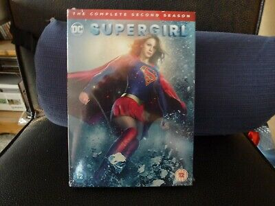 supergirl the complete second season  dvd sealed new