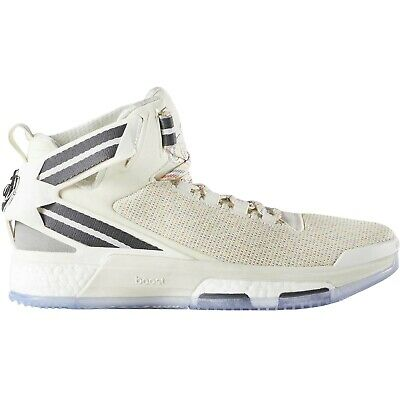 adidas Performance Mens D Rose 6 Boost Lace Up Hi Top Basketball Shoes - Multi