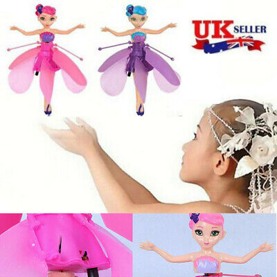 Magic Cute Flying Fairy Princess Dolls Toy Infrared Induction Control Xmas Gift