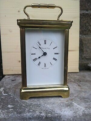 Brass cased 8 day Carriage Clock