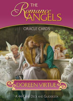 The Romance Angels Oracle Cards Doreen Virtue 44 Cards&Guide,ORIGINAL,NEW,SEALED