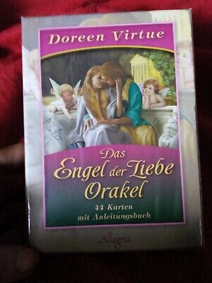 The Romance Angels Oracle Cards Doreen Virtue 44 Cards&Guide,ORIGINAL,SEALED