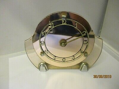 Vintage Smiths 8 Day. 1920S/1930S.art Decko Mantle Clock.project.