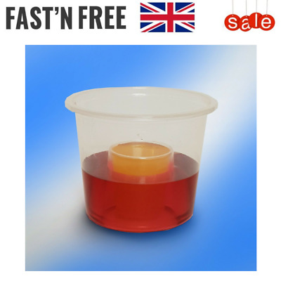 Strong Jager Bomb Shot Plastic Glasses Disposable-25ml CE Marked Clear 60ml Size