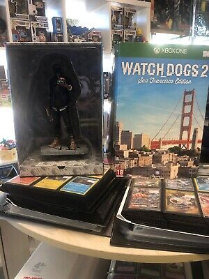 WATCHDOGS Watch Dogs 2 SAN FRANCISCO Marcus statue Collectors EDITION Xbox One