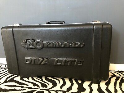 Kino Flo Diva Lite shipping Carry Storage Case- You Need This !! Light System