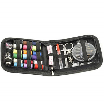 72 PCS Mini Travel Sewing kit Beginners Emergency Sewing Kit Sewing Accessories