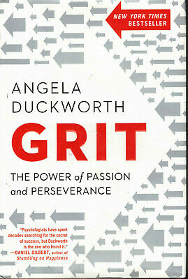 Grit : The Power of Passion and Perseverance by Angela Duckworth Book