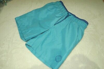 Rebel ~ Boys Solid Turquoise Blue Swim Pool Beach Surf Shorts ~ Age 7 - 8 Yrs