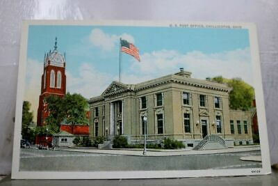 Ohio OH Chillicothe US Post Office Postcard Old Vintage Card View Standard Post