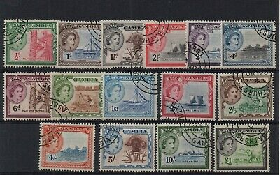 !!! British Colonies, Gambia Set Yt # 146/160 Used