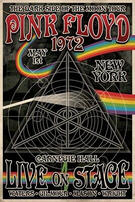 PINK FLOYD CONCERT TOUR POSTER, Size 24x36