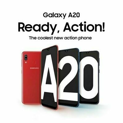 New Sealed Samsung Galaxy A20 32GB 4G LTE DualSim Unlocked Android Smartphone