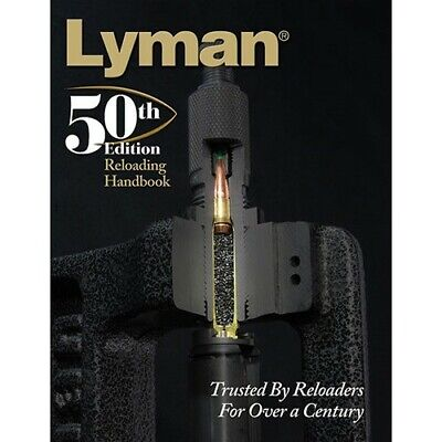 Lyman 9816050 50th Edition Ammo Reloading Book Hardcover