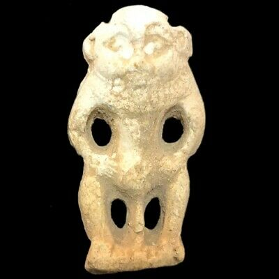 Beautiful Ancient Egyptian Bes Statue 300 Bc