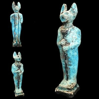 Beautiful Ancient Egyptian  Statuette 300 Bc