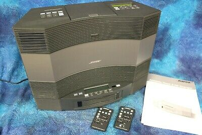 Bose Acoustic Wave Music System II w/ Accessory 5 Disc Changer & Remotes