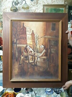 Fine 17th 18th Century  Dutch Old Master Life Antique Oil Painting Singed