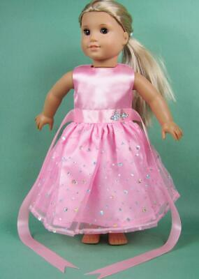 Handmade Doll Clothes Dress Accessories Lot For 18 inch Toy Girl Outfit Fashion