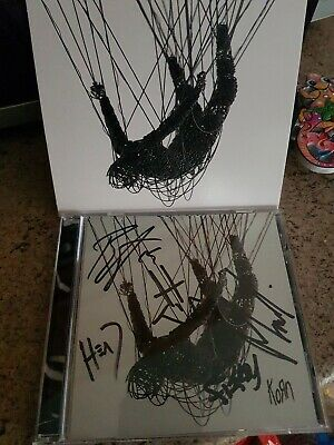 Korn - The Nothing Cd Signed Autographed