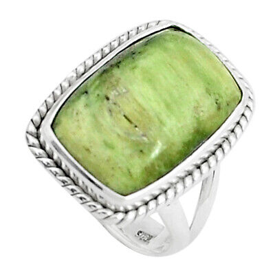 925 Silver 12.03cts Natural Swiss Imperial Opal Solitaire Ring Size 6.5 P45965