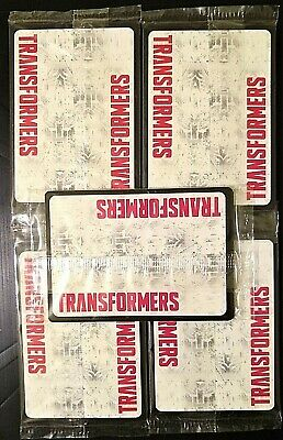 TRANSFORMERS TCG: Rise of the Combiners Wave 2 - 5 SEALED BATTLE CARD PACKS